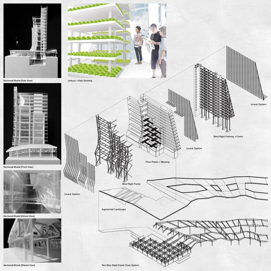 Mario Ramos, A Graduate Student From Brownsville Studying Architecture, Won  First Place In The Tall Building Category In The ACSA/AISC Steel Student  Design ...