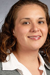 Jaclyn Cañas is an environmental toxicology researcher at TIEHH and director of the Plains Bridges to the Baccalaureate Program.