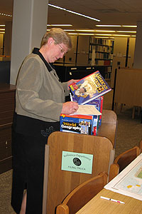 The Texas Tech University Libraries provided Lockney High School with textbooks as well as other educational support.