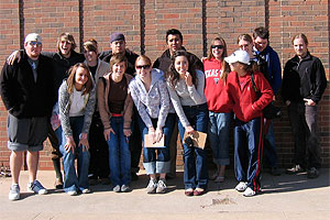 Students volunteered time to the Lubbock Animal Shelter which helped earn Texas Tech university the distinguished award.