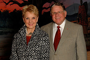 "Michael ""Mickey"" and Barbara Esslinger McKenzie of Sulphur Springs are both graduates of Texas Tech University and active alumni."