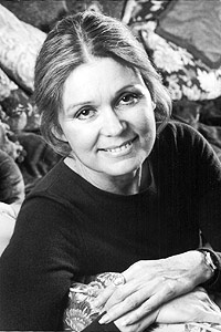 Gloria Steinem is an Emmy Award-winning writer, lecturer, editor and feminist activist.