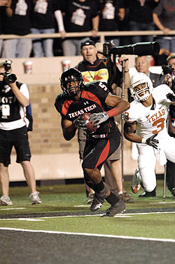 Michael Crabtree last second play Texas Tech vs. University of Texas by Joey Hernandez