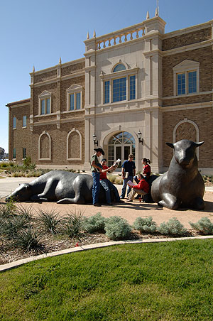 The College of Agricultural Sciences and Natural resources at Texas Tech