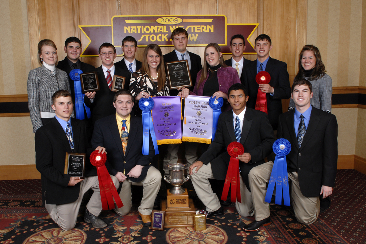 Wool Judging Team Ends Season With Top Five Finish March