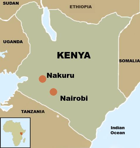 Image result for nakuru map
