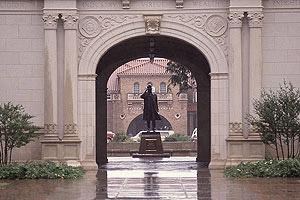 Administration Building arch