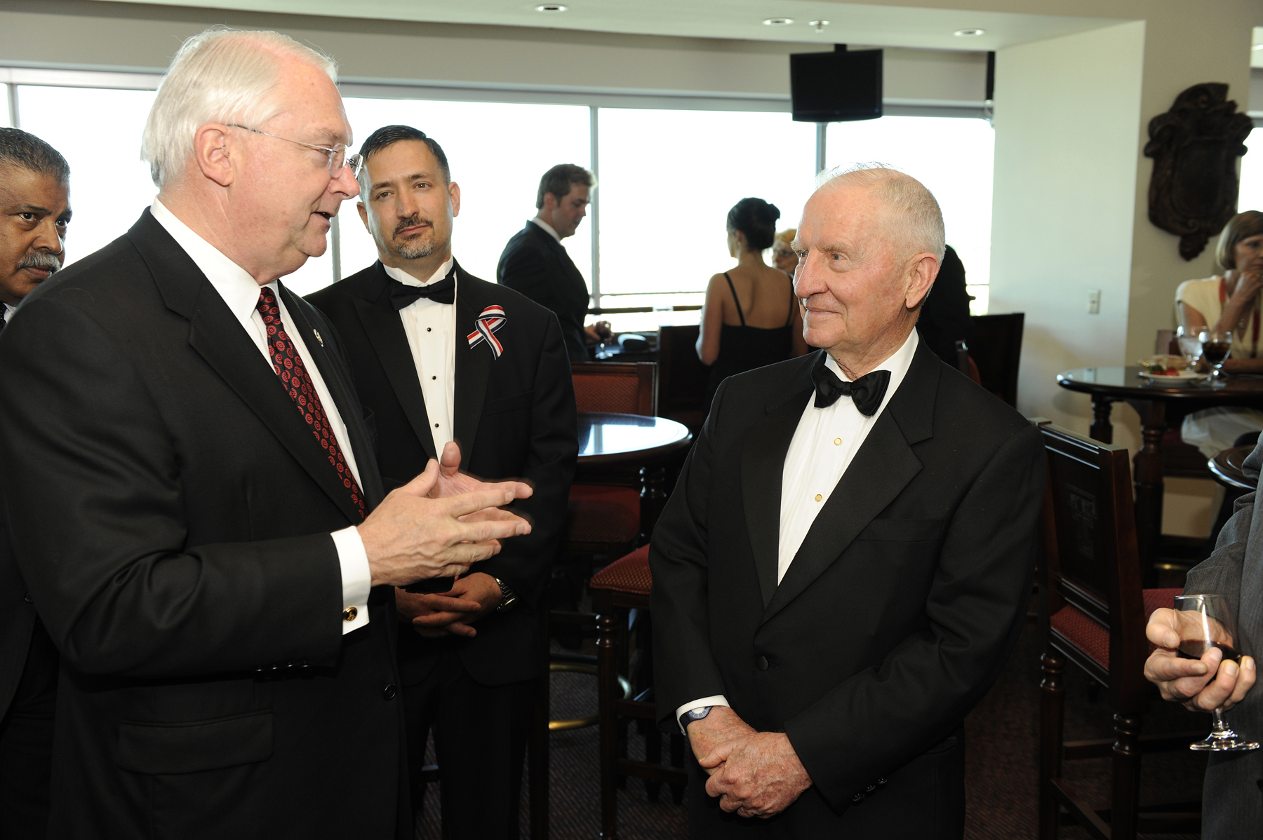 Rep. Randy Neugebauer, Steve Maxner and H. Ross Perot