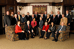 2008-2009 Texas Tech Foundation Board of Directors.