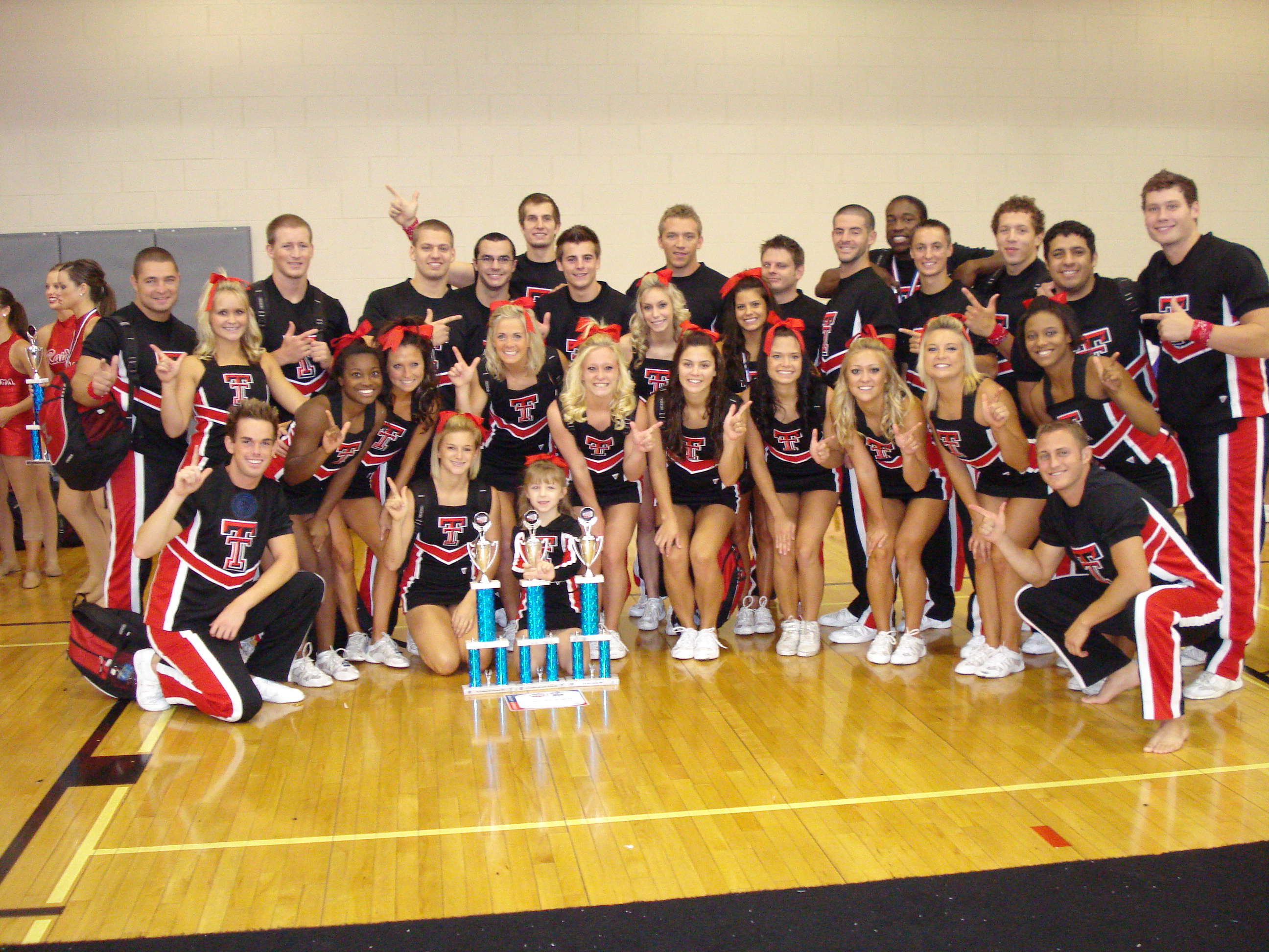 The Texas Tech Cheerleaders Finished With Top Overall Score And Won Title Of Most
