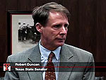 Texas State Senator Robert Duncan announces Texas Tech TRIP funds