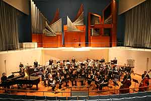 The University Symphony Orchestra will not only musically entertain their audience but also visually as they play in full Halloween costume and perform skits.