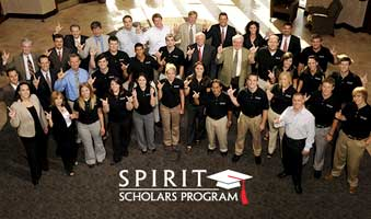 Texas Tech University has announced the ConocoPhillips  SPIRIT Scholars of 2009-2010.
