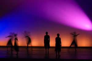 dancetech: artistry in motion includes both undergraduate and graduate students is directed by faculty members genevieve durham decesaro ali duffy.