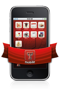 The full suite of mobile applications included in TTU Mobile will eventually cover every facet of campus life.