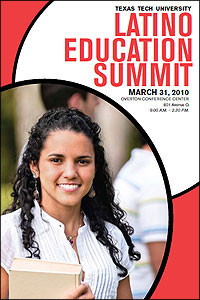 The summit will feature panelists from a spectrum of higher education advocates and will present information on research, policy and programs designed to promote Latino/a educational success.