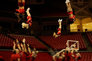 Texas Tech's Cheer Squad claimed third place at the 2010 Collegiate Cheer and Dance Competition in Daytona Beach, Fla.