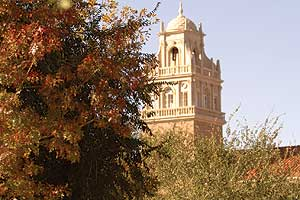 Bell Tower in Fall