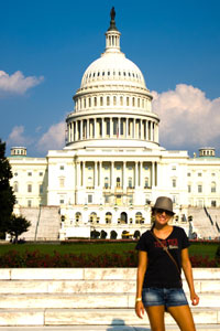 More than 180 students have traveled to D.C. and taken part in the congressional internship experience.