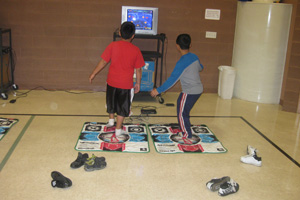 Fitness video games can provide more activity for children and incorporate fun with fitness.