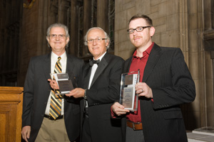 Keith Brigham, Tyge Payne and Jeremy Short were awarded for their article published in Family Firm Institute's international conference in Chicago.