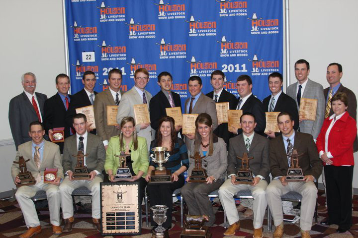 Livestock Judging Team Finishes With Win In Houston