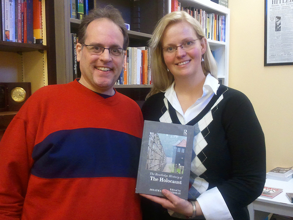Lynne Fallwell and Robert G. Weiner recently were published in the Routledge History of the Holocaust.