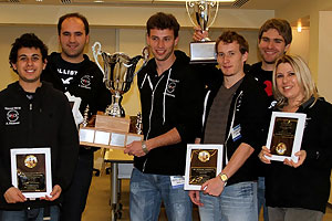 Davorin Kuljasevic, Istvan Sipos, Susan Polgar, Faik Aleskerov, Andre Diamant and Anatoly Bykhovsky, pulled off an upset at the Final Four of chess.