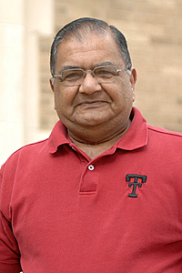 Kishor Mehta, current president of Sigma Xi at Texas Tech, has been a member of the organization since 1967.