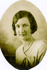 Wilma Leslie, who majored in home economics, attended the college from 1928-1930 when tuition was  a mere $30.