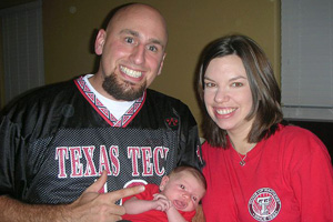 Although Hargrove currently resides in Austin, he still remains a loyal Texas Tech fan.