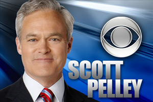 Pelley has been with CBS for 21 years and takes over the anchor desk of the Evening News on June 6.
