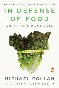 Pollan's book will allow students to discuss and explore their individual relationship with food.