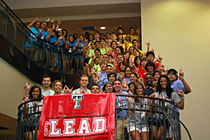 Camp L.E.A.D. was implemented with high school students entering their junior year.