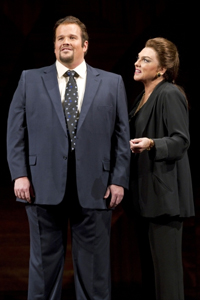 In the production, Sorenson plays Tony Candolino, a tenor who sings in Maria Callas' (Tyne Daly) master class.