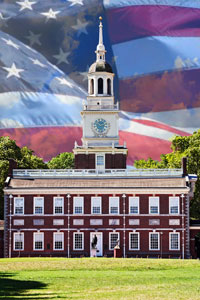 The Constitution was signed at Independence Hall on Sept. 17, 1787.