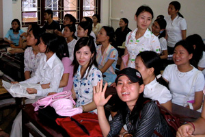 Gorsuch visited Vinh City in North Vietnam on a grant provided by the Fulbright Scholar Program to conduct her research.