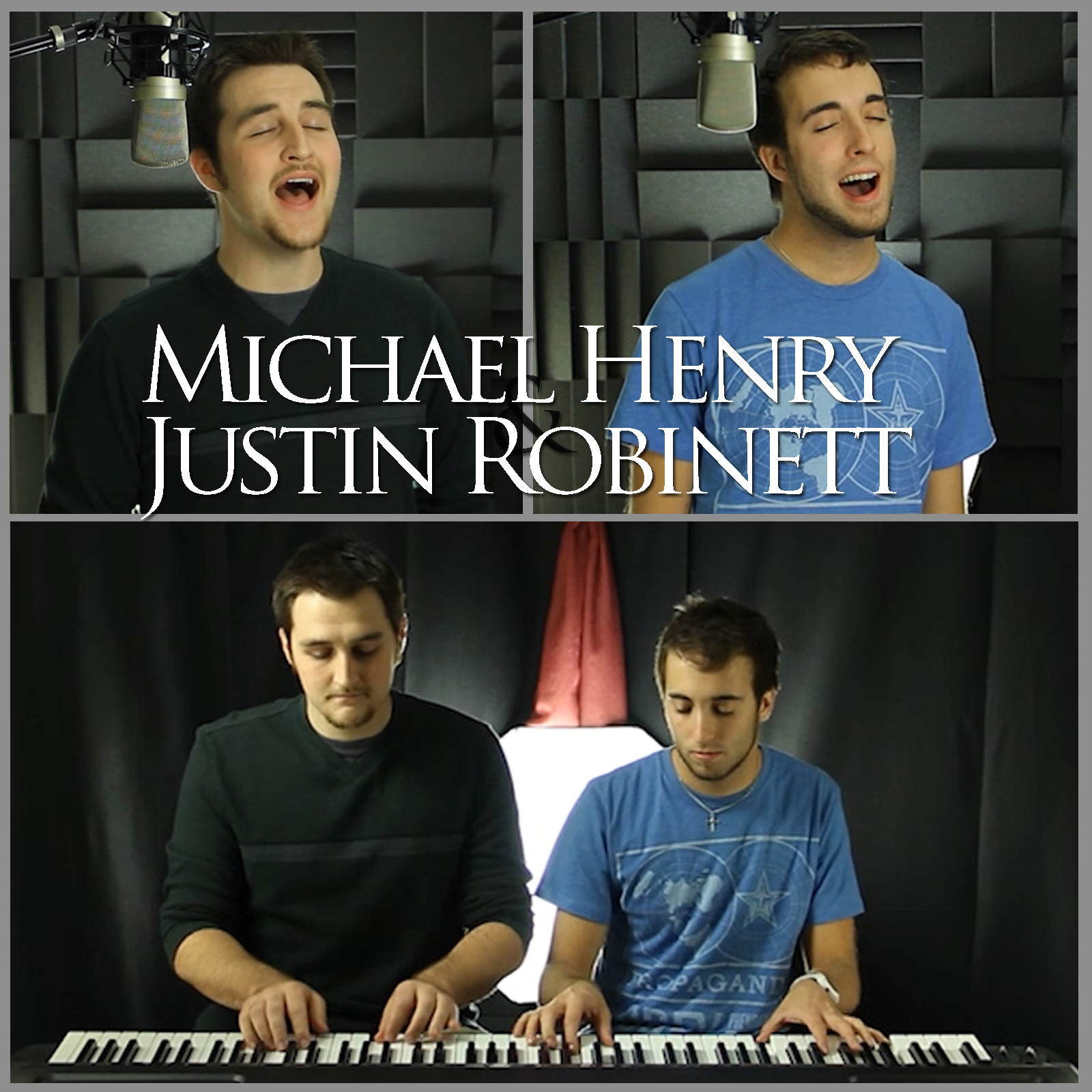Posting their music videos to YouTube began as a side project for Henry and Robinett, but now it may lead to a viable career option for both.