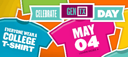Generation TX is a statewide grassroots movement of the Texas Higher Education Coordinating Board aimed at creating a generation of college and career readiness.