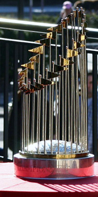 The Texas Rangers were one out away from claiming their first World Series trophy last season.