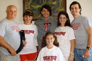 Khajshvili said he is enjoying Texas Tech, but is missing his parents and siblings in the Republic of Georgia.
