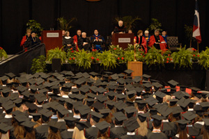 A record 3,643 students will graduate from Texas Tech during spring commencement ceremonies.
