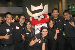 The Texas Tech HSF chapter was chosen out of 37 others across the nation.</