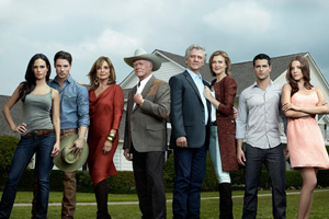 The new series includes some of the actors from the previous one, including Hagman and Patrick Duffy.