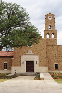 The Hance Chapel can seat approximately 250 guests and is available to all faiths.