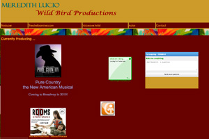 Since moving to New York City, Lucio has formed her own production company: Wild Bird Productions./
