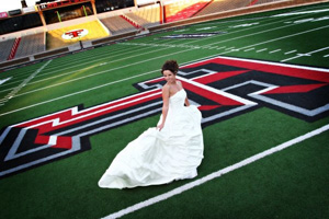 Ramirez used the Texas Tech Club for her wedding reception, which she said was a hit with her guests.
