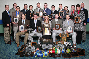 The livestock team is trying to capture the program's fifth national championship in the last six years.