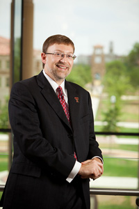 Lance Nail, new dean of the Rawls College of Business.