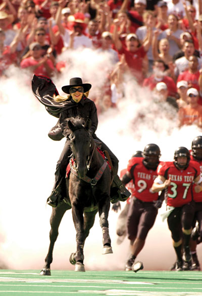 Midnight Matador will be honored in an official ceremony at the final home game against Kansas on Nov. 10.